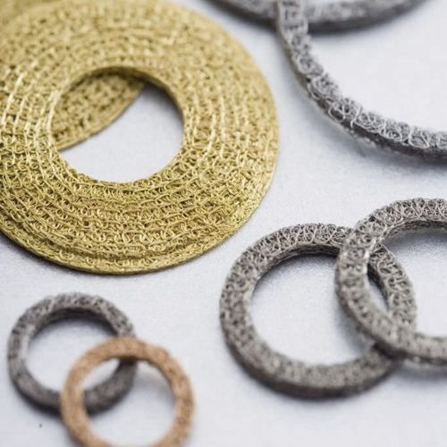 knitted mesh gasket