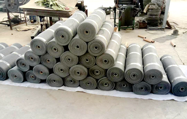 stainless knitted wire mesh
