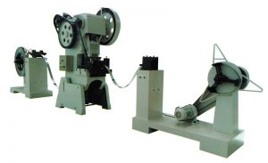 strip coil punching machine