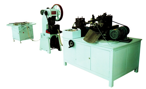wire wound filter skeleton rolling machine